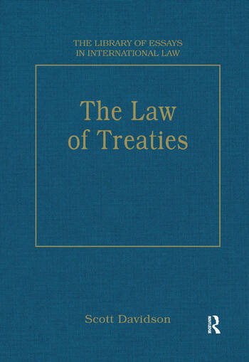 The Law of Treaties book cover