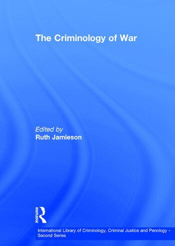 The Criminology of War book cover