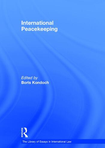 International Peacekeeping book cover