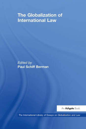 The Globalization of International Law book cover
