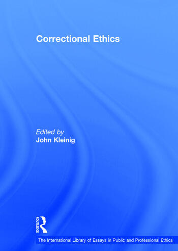 Correctional Ethics book cover