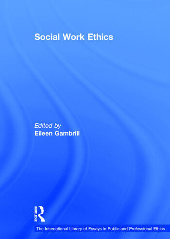 Social Work Ethics book cover