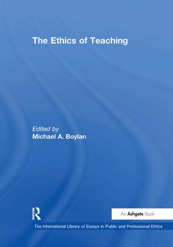 The Ethics of Teaching book cover