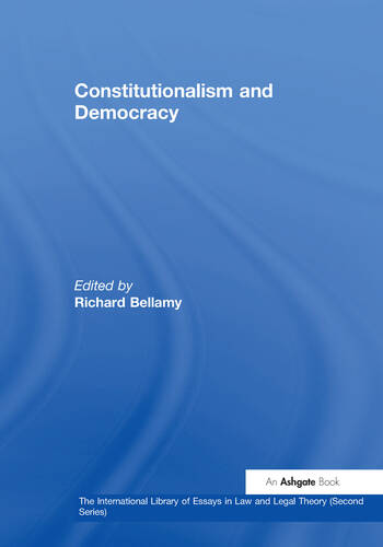 Constitutionalism and Democracy book cover