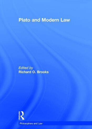 Plato and Modern Law book cover