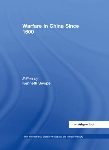 Warfare in China Since 1600 book cover