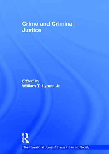 Crime and Criminal Justice book cover