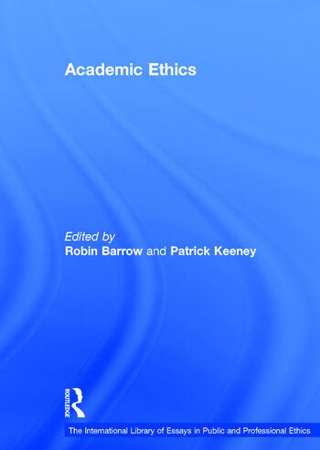 Academic Ethics book cover