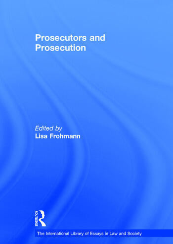 Prosecutors and Prosecution book cover