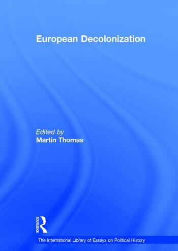 European Decolonization book cover