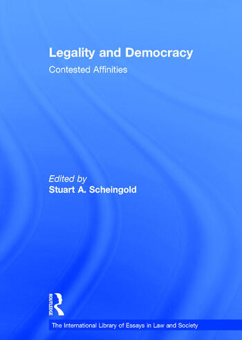 Legality and Democracy Contested Affinities book cover