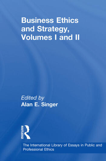 Business Ethics and Strategy, Volumes I and II book cover
