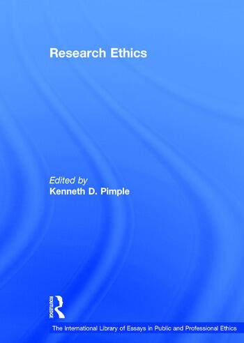 Research Ethics book cover