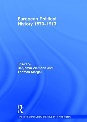 European Political History 1870–1913 book cover