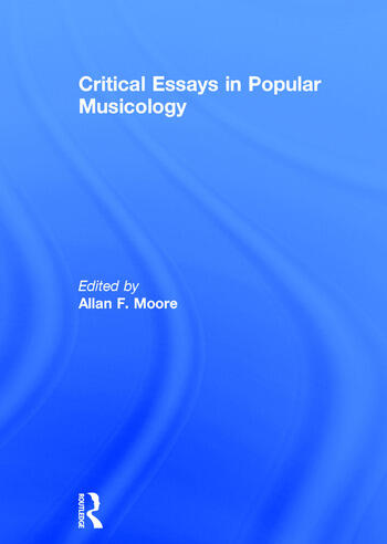 Critical Essays in Popular Musicology book cover