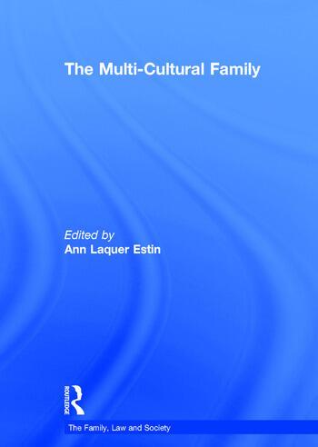 The Multi-Cultural Family book cover
