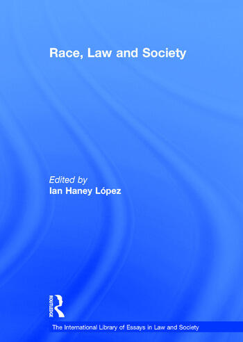 Race, Law and Society book cover