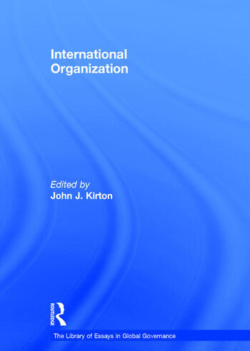 International Organization book cover