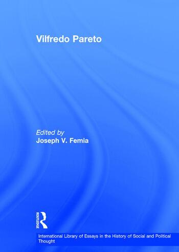 Vilfredo Pareto Beyond Disciplinary Boundaries book cover