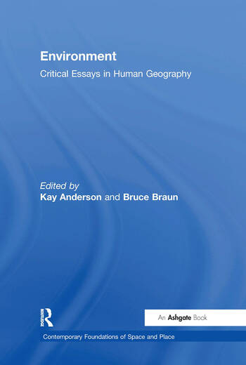 Environment Critical Essays in Human Geography book cover