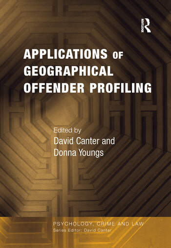 Applications of Geographical Offender Profiling book cover