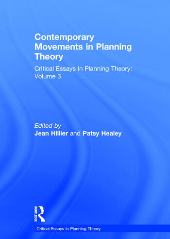 Contemporary Movements in Planning Theory Critical Essays in Planning Theory: Volume 3 book cover