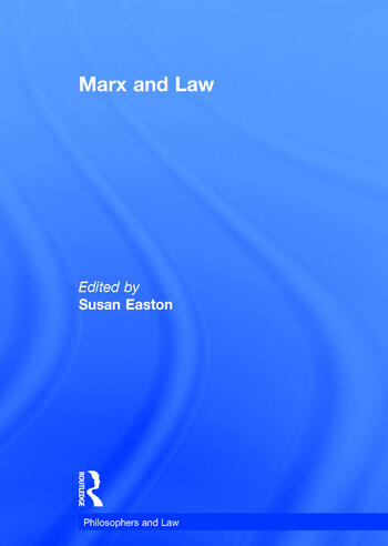 Marx and Law book cover