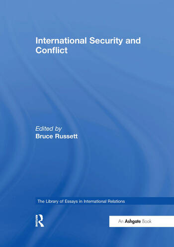 International Security and Conflict book cover