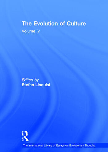 The Evolution of Culture Volume IV book cover