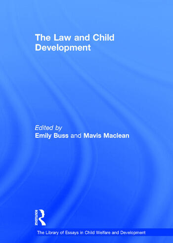 The Law and Child Development book cover