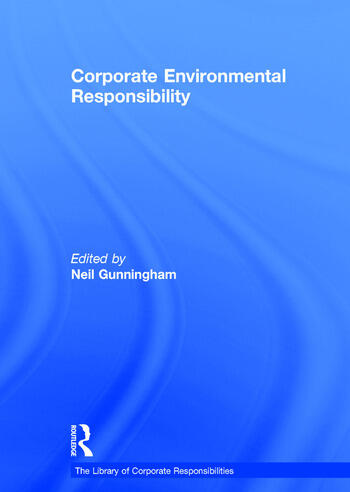 Corporate Environmental Responsibility book cover