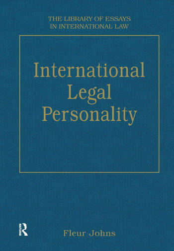 International Legal Personality book cover