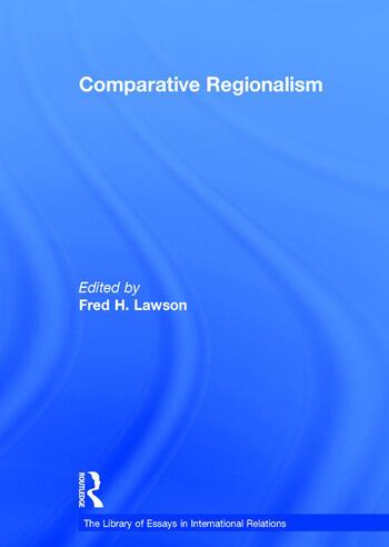 Comparative Regionalism book cover