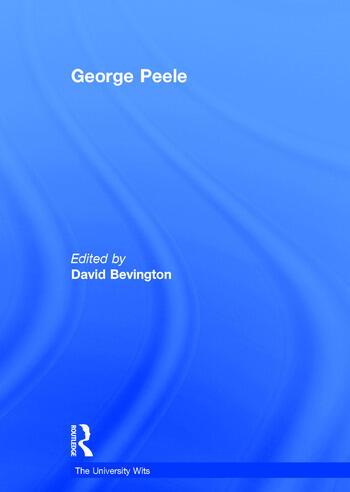 George Peele book cover