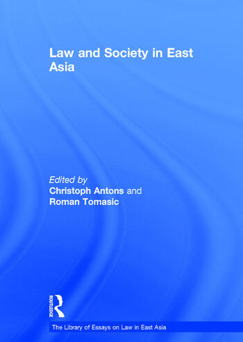 Law and Society in East Asia book cover