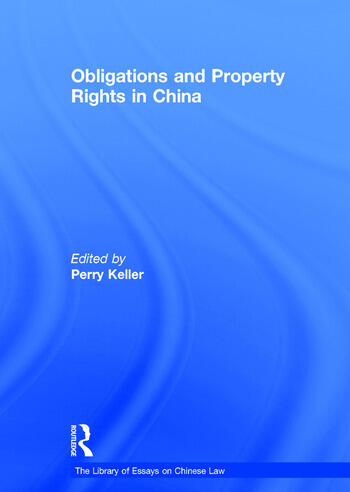 Obligations and Property Rights in China book cover