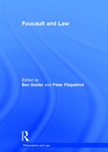 Foucault and Law book cover