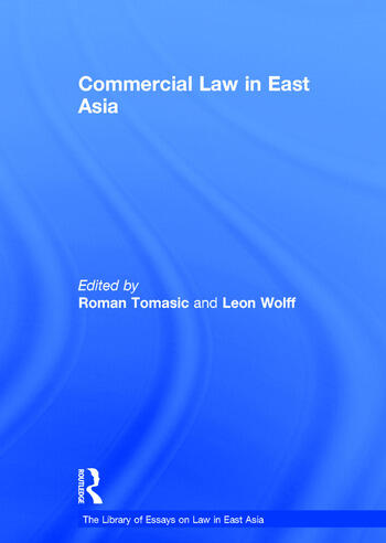 Commercial Law in East Asia book cover