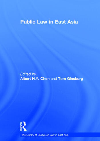 Public Law in East Asia book cover