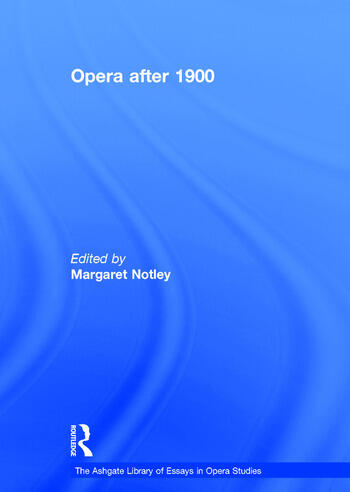 Opera after 1900 book cover