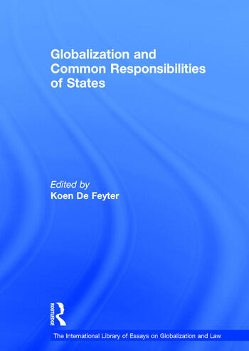 Globalization and Common Responsibilities of States book cover