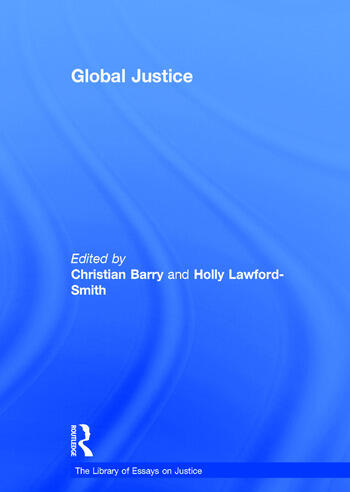Global Justice book cover