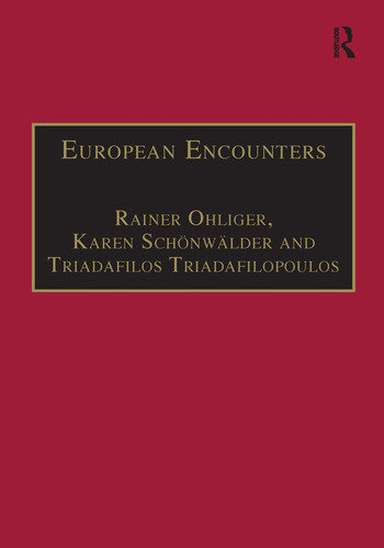 European Encounters Migrants, Migration and European Societies Since 1945 book cover