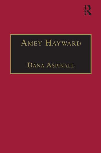 Amey Hayward Printed Writings 1641–1700: Series II, Part Two, Volume 4 book cover