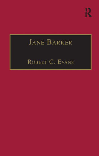 Jane Barker Printed Writings 1641–1700: Series II, Part Four, Volume 1 book cover