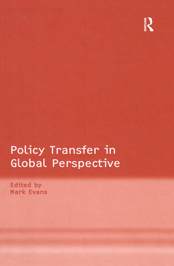 Policy Transfer in Global Perspective book cover