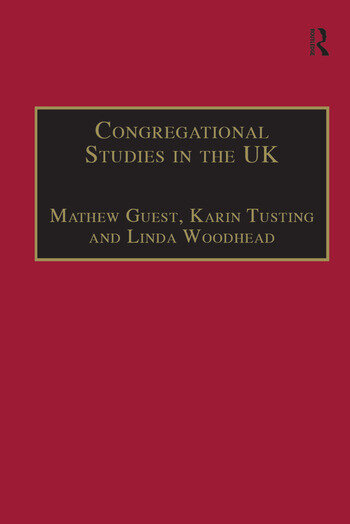 Congregational Studies in the UK Christianity in a Post-Christian Context book cover
