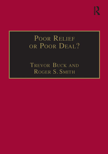 Poor Relief or Poor Deal? The Social Fund, Safety Nets and Social Security book cover