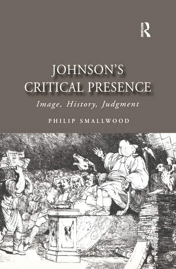 Johnson's Critical Presence Image, History, Judgment book cover