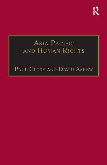 Asia Pacific and Human Rights A Global Political Economy Perspective book cover